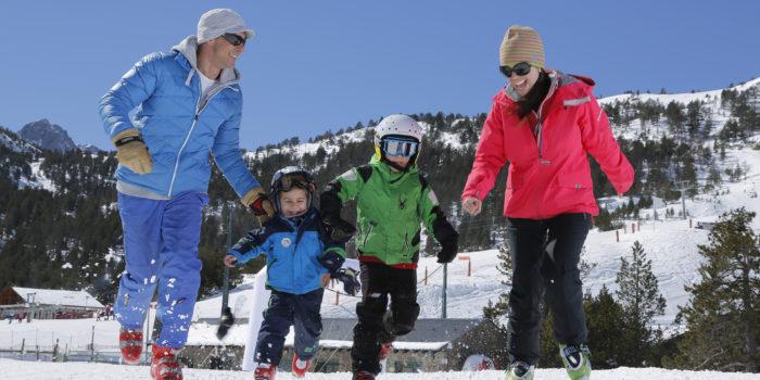 esqui nens