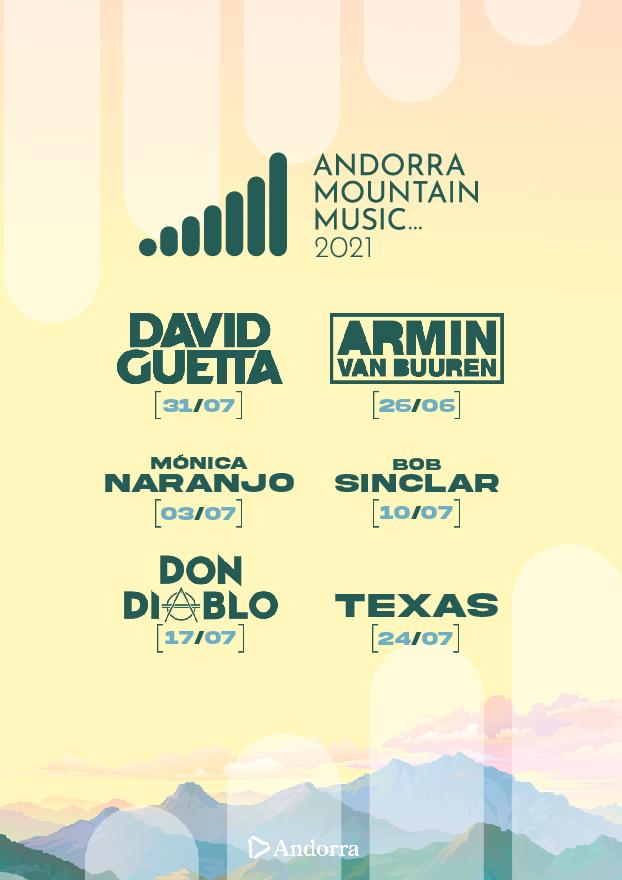 Andorra Mountain Music 2021 + hotel